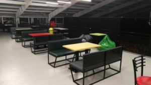 Kafić trambolina parka Amplitude